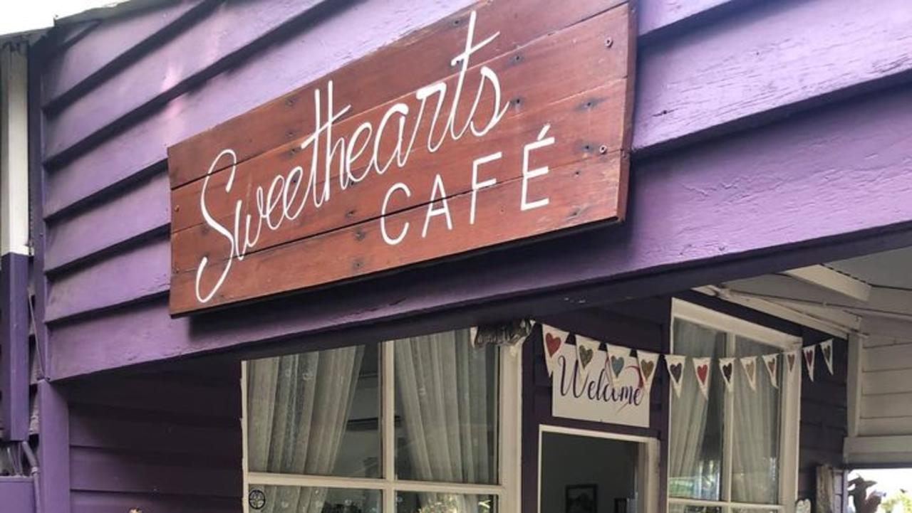 Family owned business Sweethearts Cafe Eudlo is up for sale.