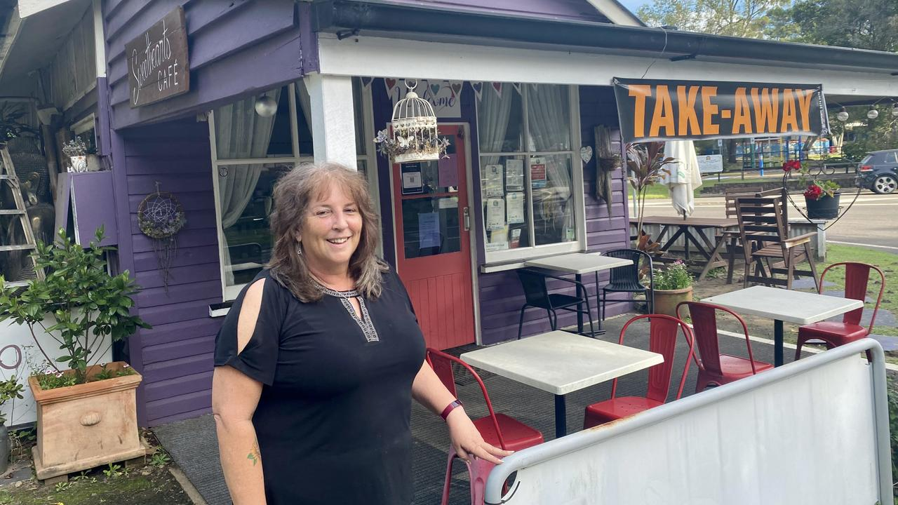 Sharon Knight has put the Sweethearts Cafe in Eudlo on the market after four and a half years at the helm.