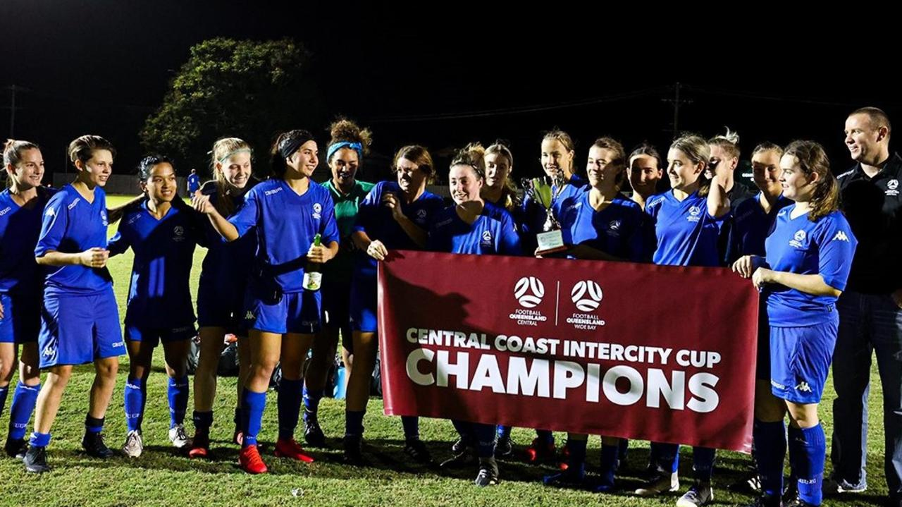 FQ Central women scored a 6-nil win over FQ Wide Bay on Saturday. Photo: Facebook