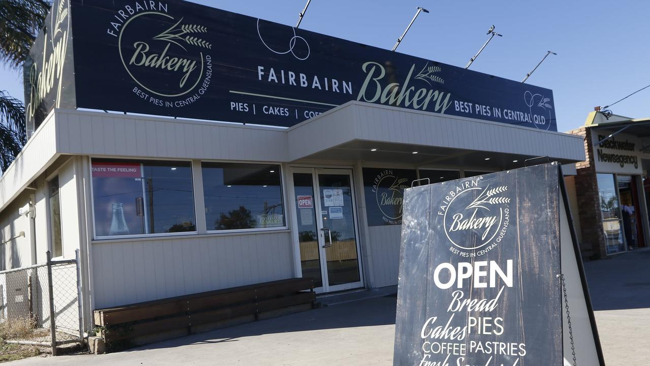 Fairbairn Bakery in Blackwater.