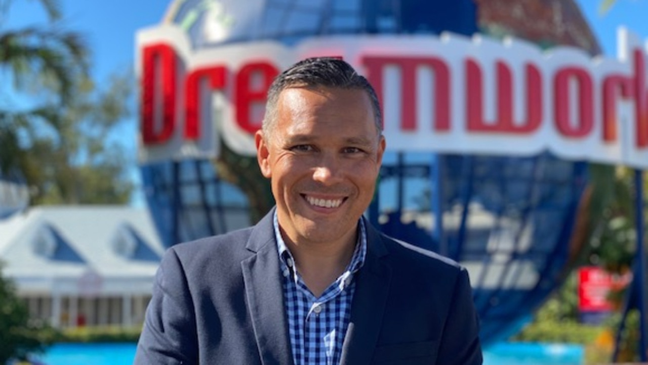 Ardent Leisure theme parks CEO Greg Yong.