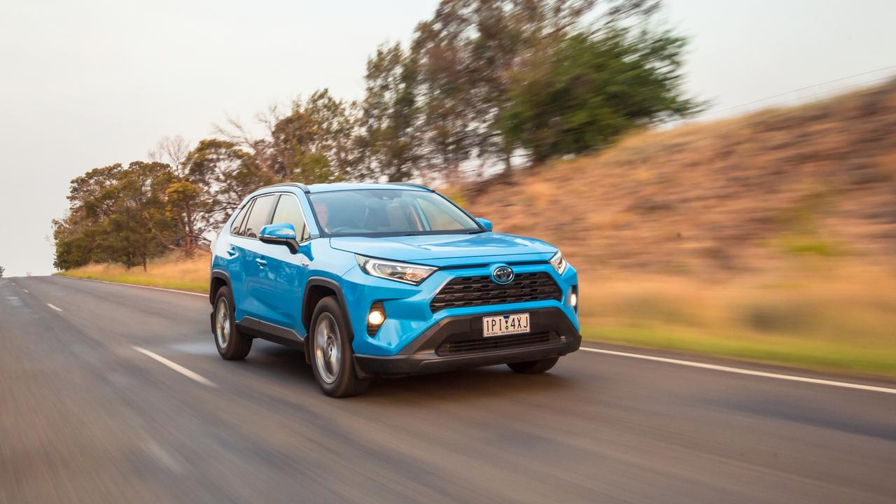 The Toyota RAV4 is one of the most popular new cars in the country. Picture: Thomas Wielecki.