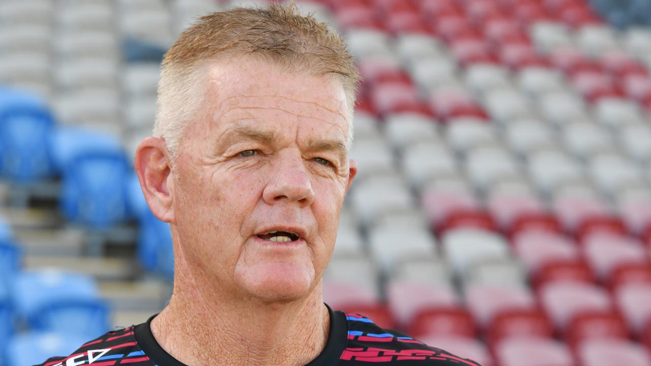 Cutters coach Michael Crawley