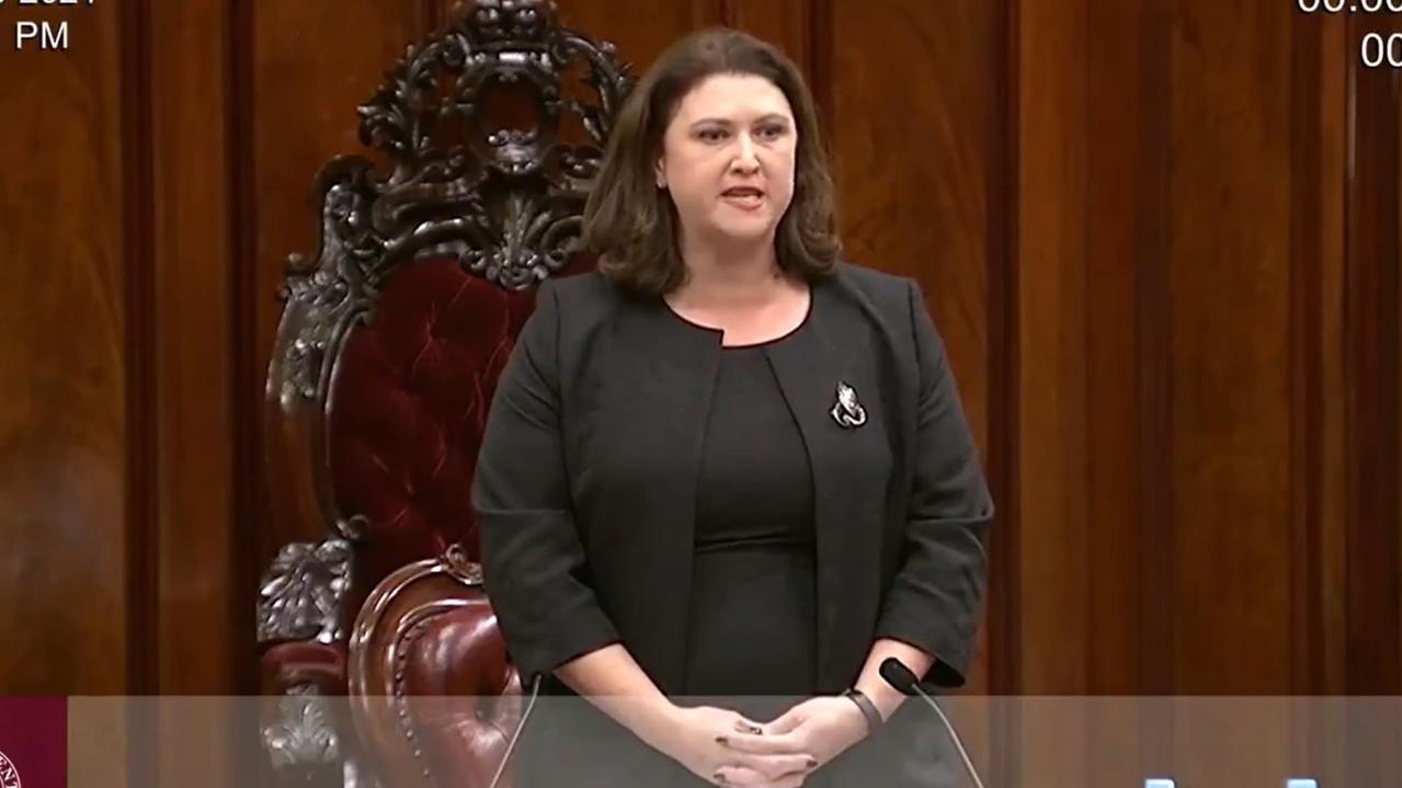 Liberal MP Natasha Maclaren-Jones' tenure as president was short-lived.