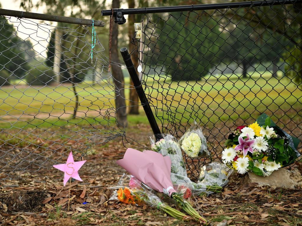 The spot where the children tragically lost their lives. Picture: Joel Carrett