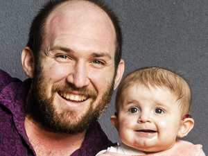 Gift of love: One-in-a-million baby gets stem cells from Dad