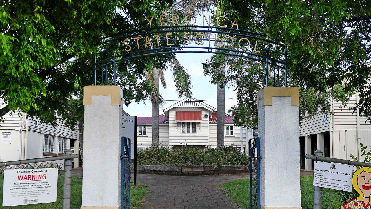 Yeronga State School has seen one of the largest jumps in enrolment numbers in Brisbane. Picture: AAP/John Gass