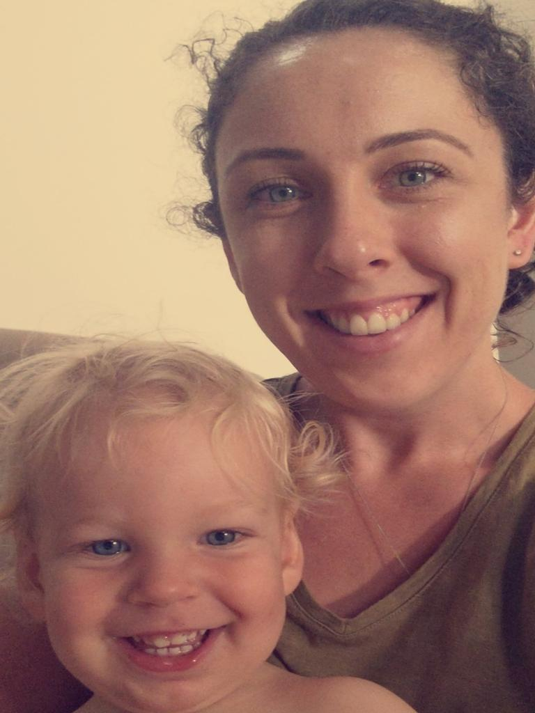 Gladstone mother Jemma Manwaring and her son Zac were separated after he was born and flown to Brisbane for emergency care. Concerned about breast feeding, Jemma phoned the Australian Breastfeeding Association helpline, which she said was life changing. Picture: contributed