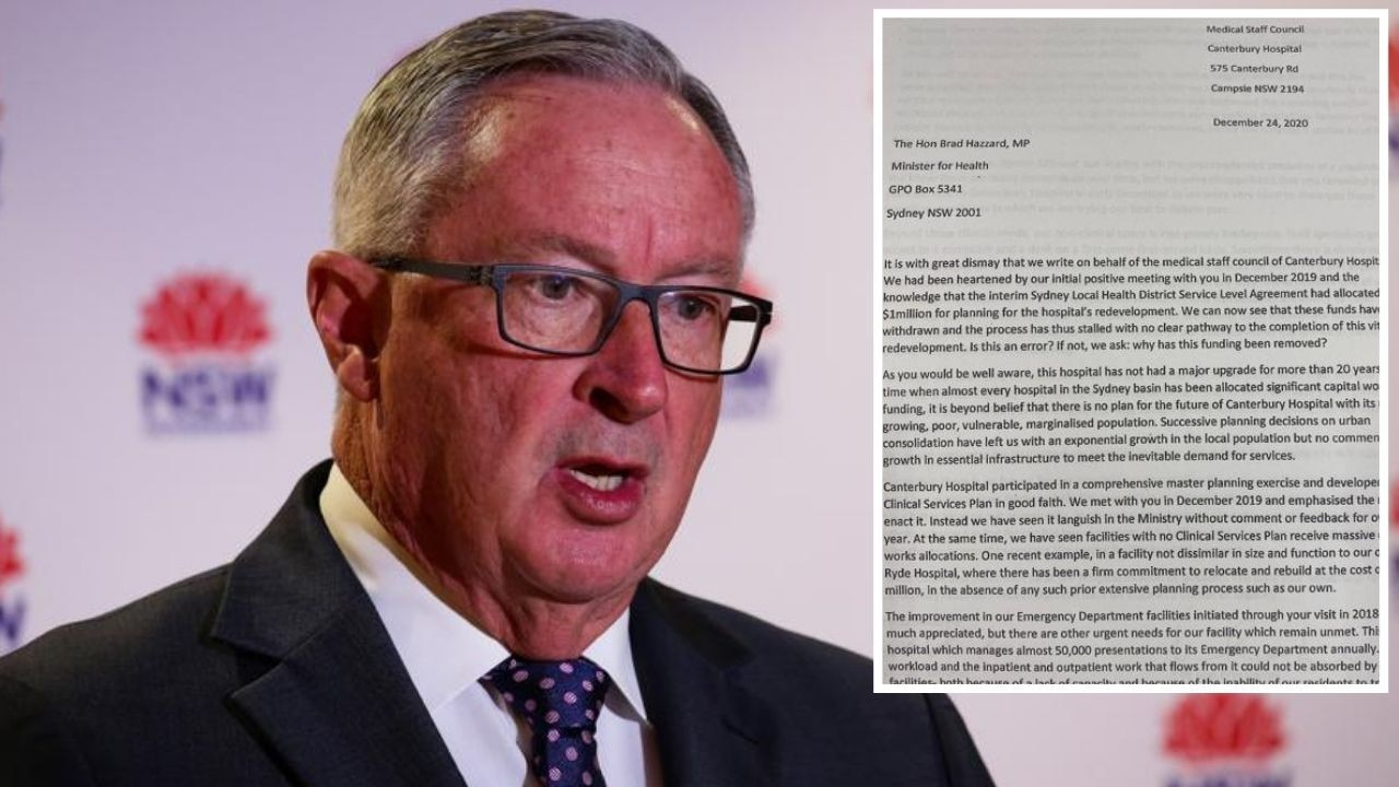 Doctors at a hospital in Sydney's booming south-west have described horrifying conditions as they beg the health minister for an upgrade.