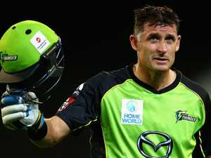 Trapped Aussie legend tests positive
