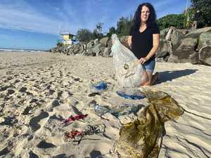 Teewah Beach balloon litter slammed by long-time residents