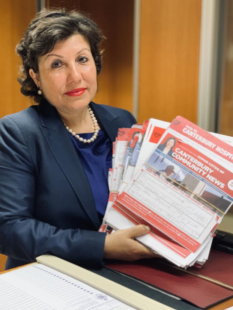 Canterbury state Labor MP Sophie Cotsis has campaigned relentlessly for more funding. Picture: Supplied