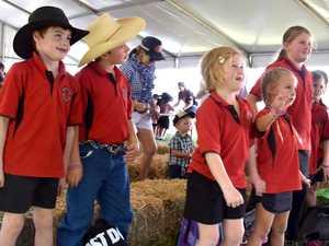 Captured on camera: Students visit Beef Australia's Kidzone