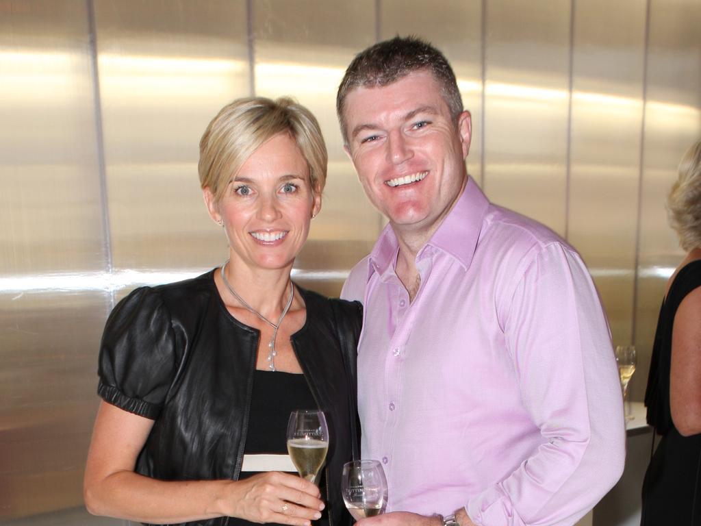 Rachel Friend and Stuart MacGill.
