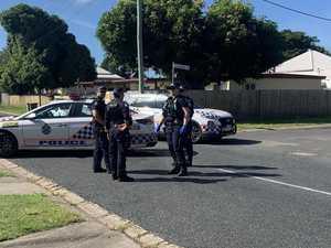 WATCH: Knife retrieved after alleged stabbing in Mackay CBD