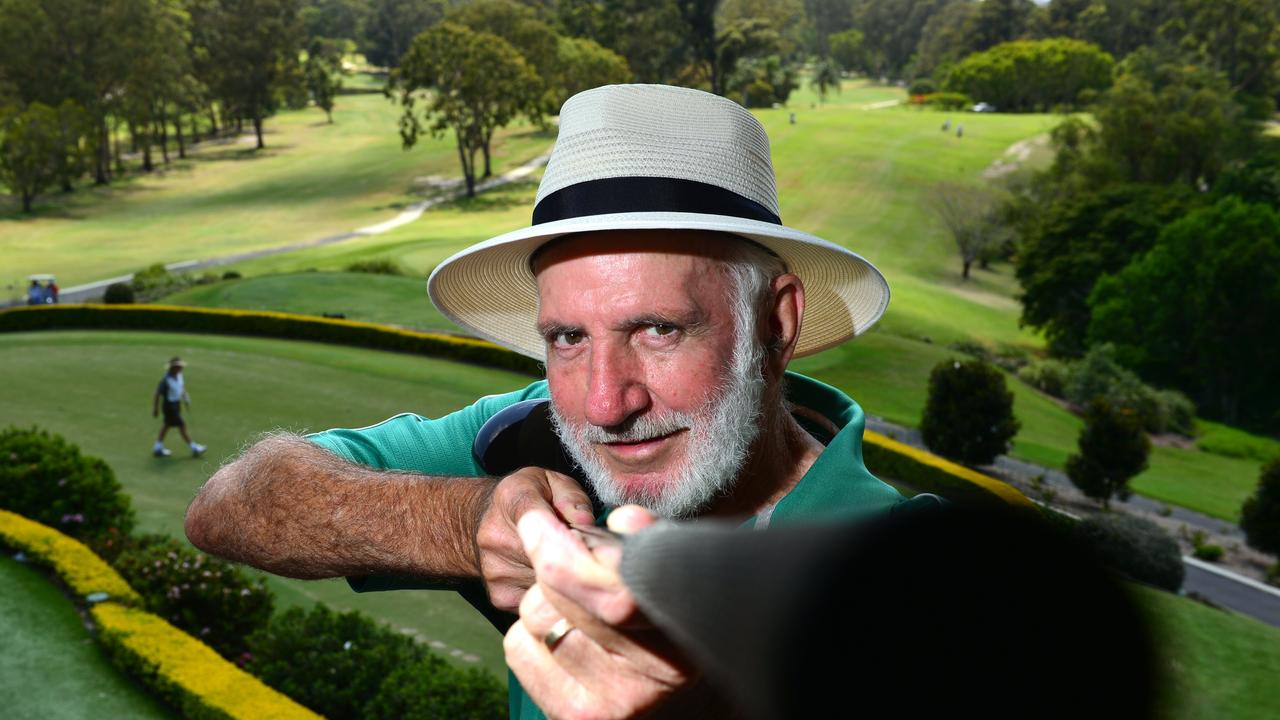 SHARP SHOOTER: 71 year old golfer, Bob Trevor pictured in 2015 after shooting a score lower than his age. Picture: John McCutcheon