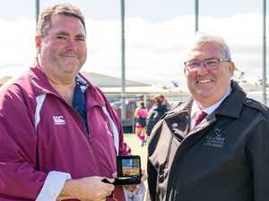 Gladstone hockey stalwart honoured by Hockey QLD