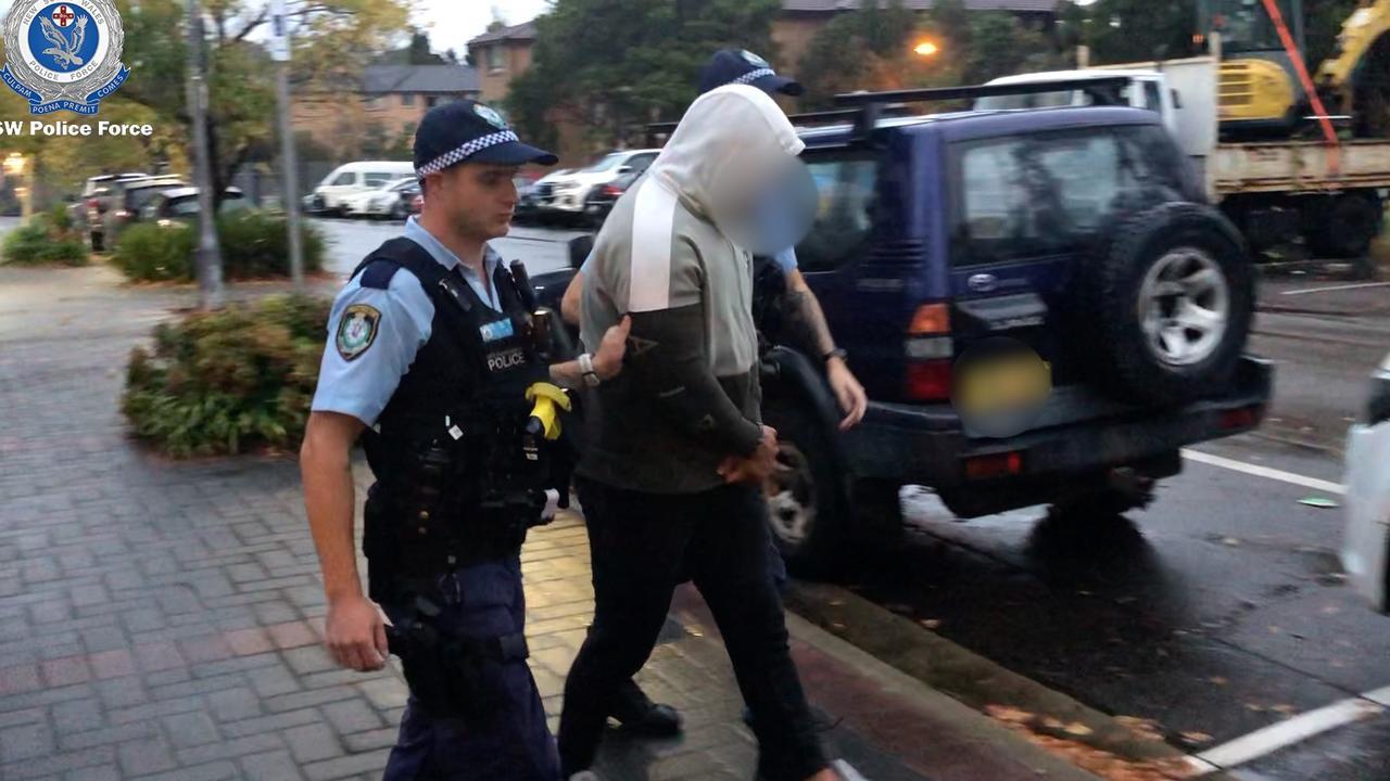 Four men were arrested after dawn raids.
