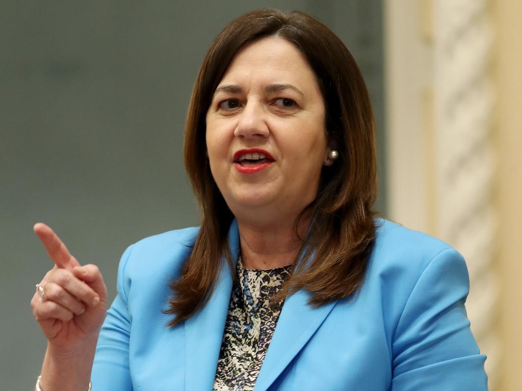 Premier Annastacia Palaszczuk has implemented a new quarantine rule. Picture: Tara Croser.