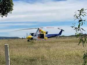Woman airlifted after fall from horse at CQ property