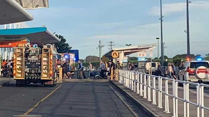 Mackay Airport evacuated as emergency unfolds
