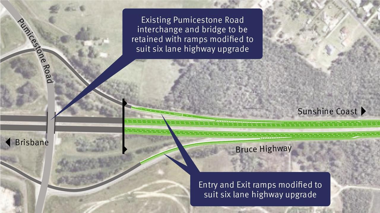 The second and final contract for the $662.5 million Bruce Highway upgrade between Caboolture-Bribie Island Road and Steve Irwin Way has been confirmed.