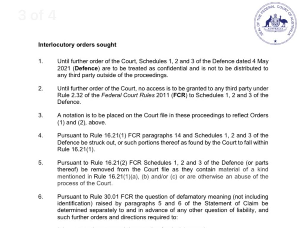 Court documents obtained by news.com.au.