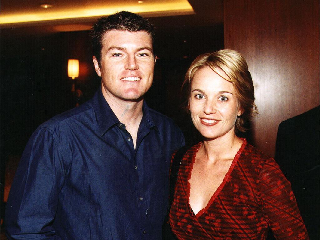 Stuart MacGill and Rachel Friend. Picture: Supplied