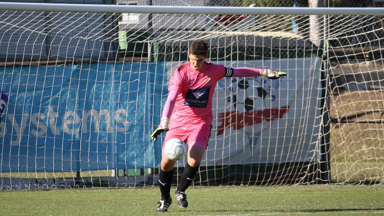 Western Pride under-18 goalkeeper Josh Boyle