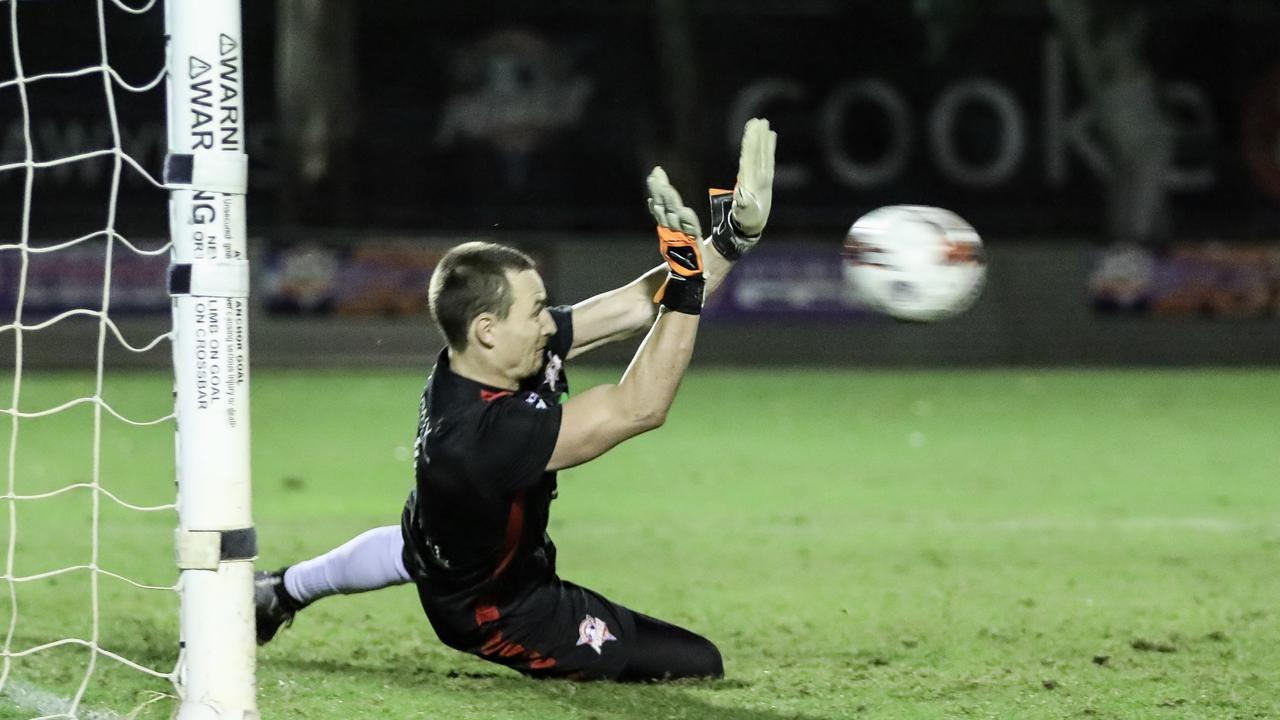 Western Pride goalkeeper Jake Reesby is likely to be out for 6-8 weeks. Picture: Kylie Wells
