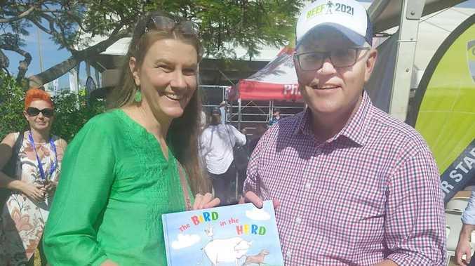 Award-winning CQ children's author shares new book