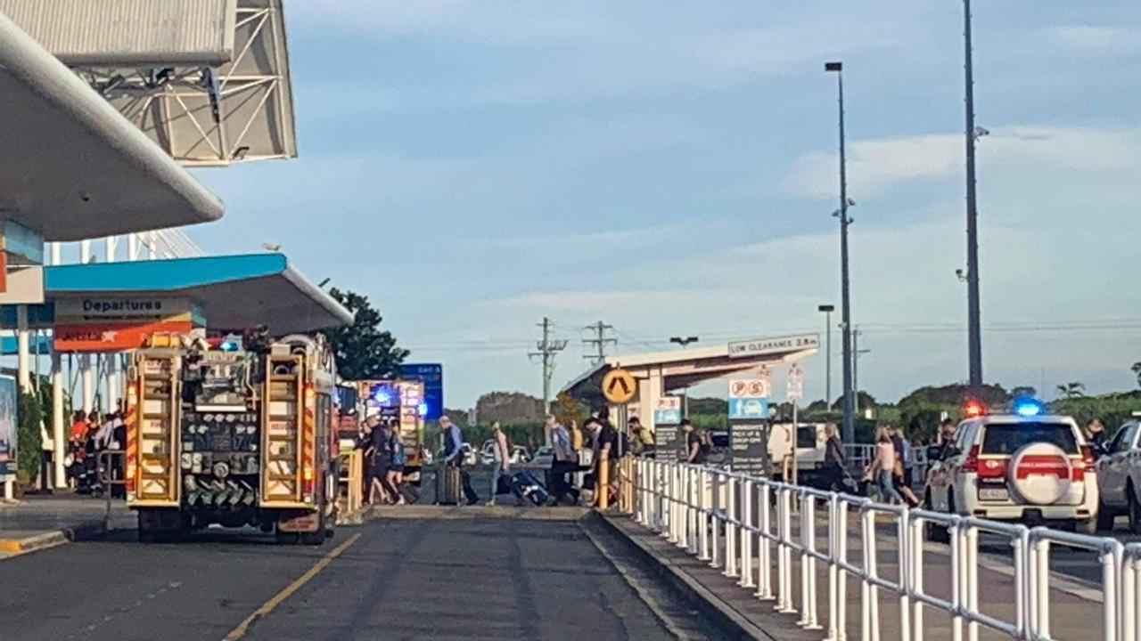 Evacuation at Mackay Airport.