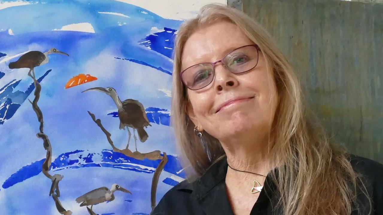 Gladstone artist Margaret Worthington's stunning works will feature in an exhibition at CQ University Marina Campus Gladstone from May 7 to June 4.