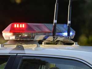 Police car involved in Coast crash