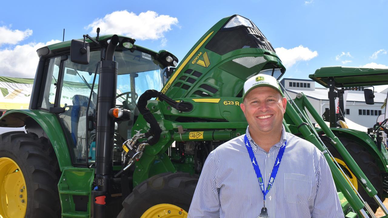 John Deere Managing Director Australia and New Zealand Luke Chandler
