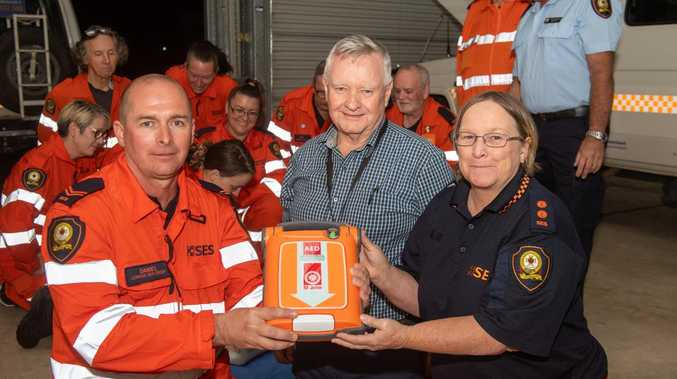 SES troupe adds vital lifesaving equipment to rescue tools