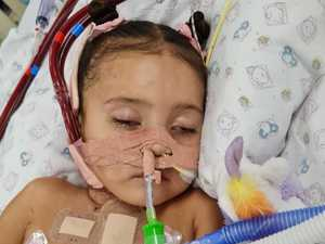 Toddler's miracle recovery after being put on life support