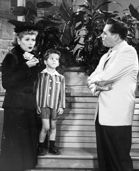 Lucy Ricardo's hilarity extended to her parenting. Photo: Young & Rubicam