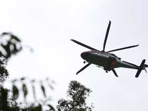 Patient flown to hospital after Coast mountain fall