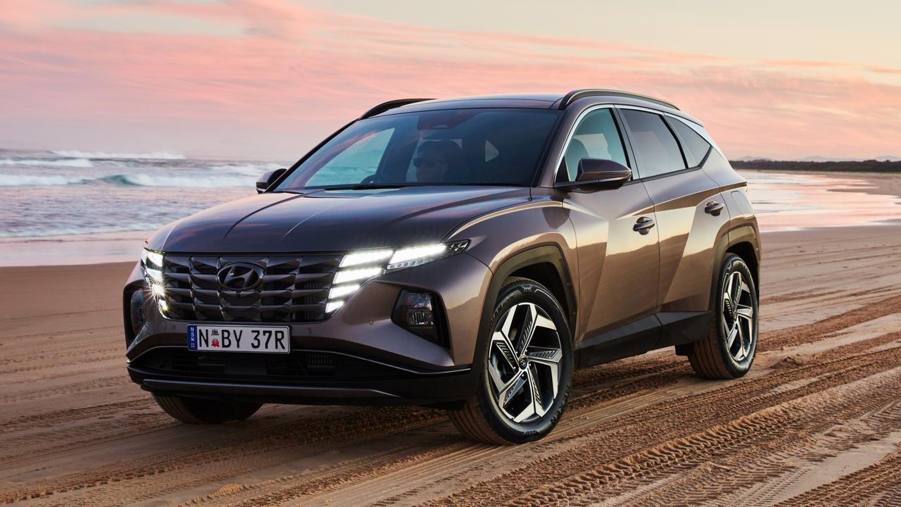 Hyundai's new Tucson has a bold look.