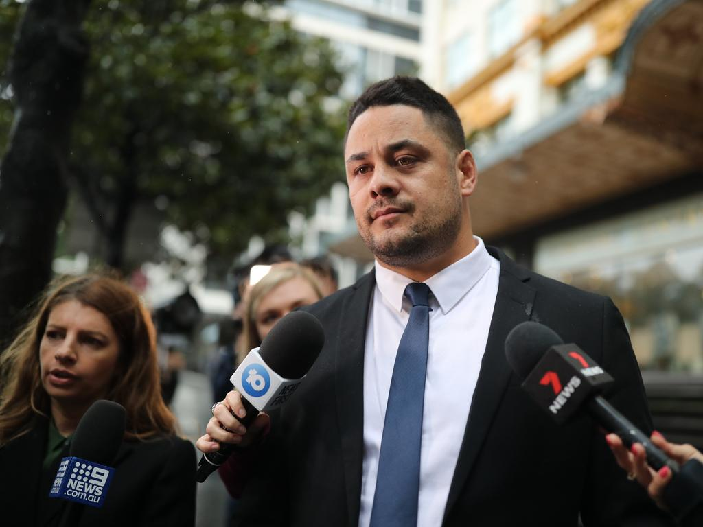 The victim was 26 when she was sexually assaulted by Hayne. Picture: NCA NewsWire / Christian Gilles