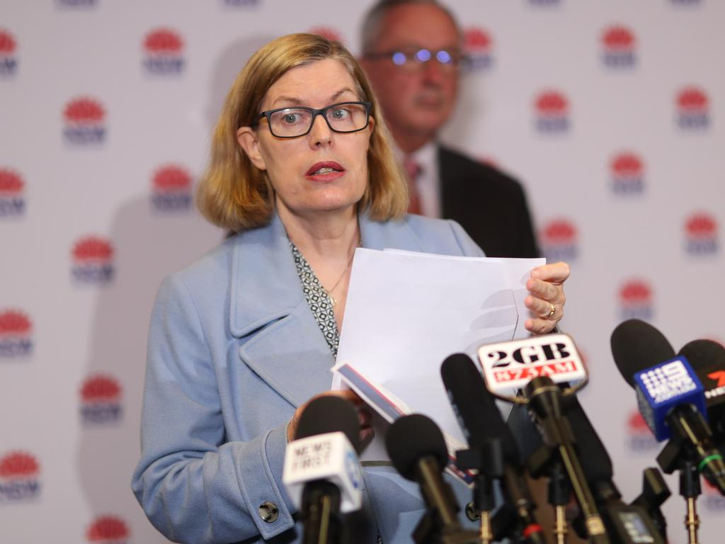 """NSW chief health officer Dr Kerry Chant says they have 72 hours to find the """"missing link"""". Picture: NCA NewsWire / Christian Gilles"""