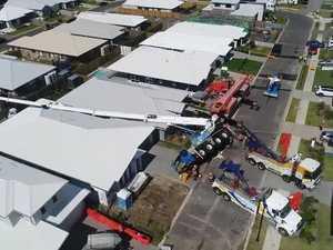 Caloundra crane removal