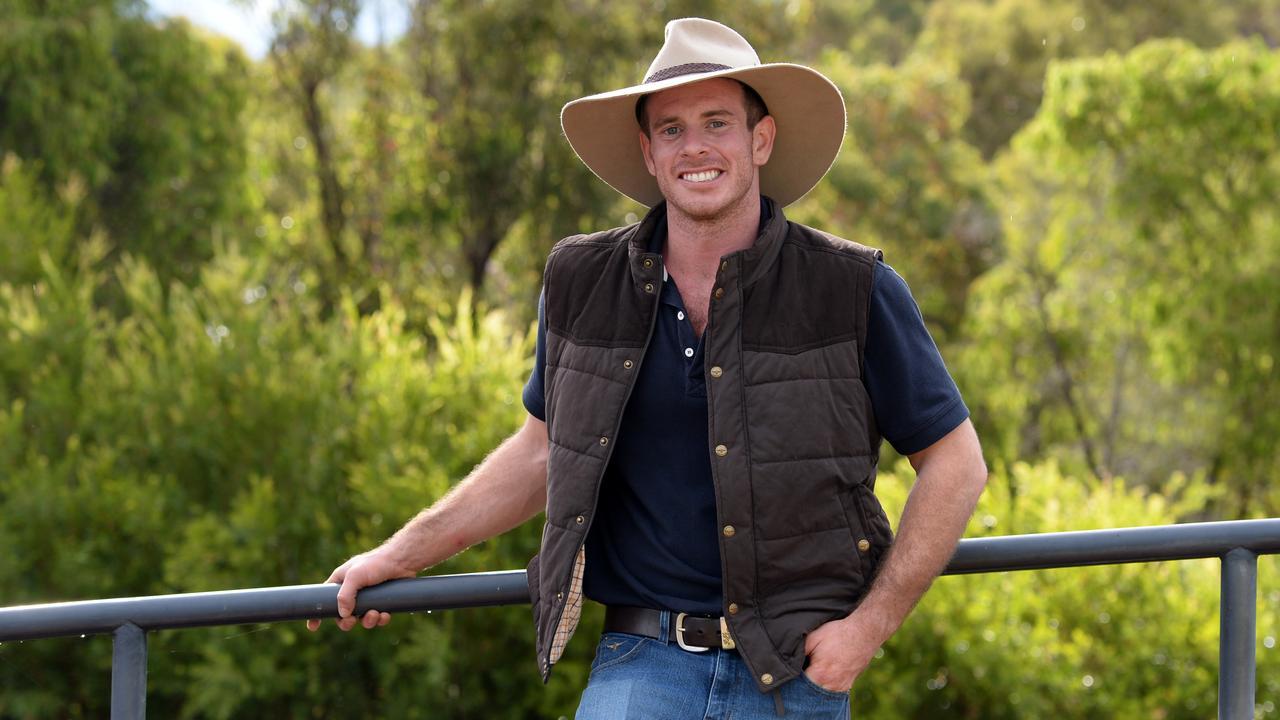 Matt Goyder appeared on Farmer Wants A Wife in 2016. Picture: Daniel Wilkins