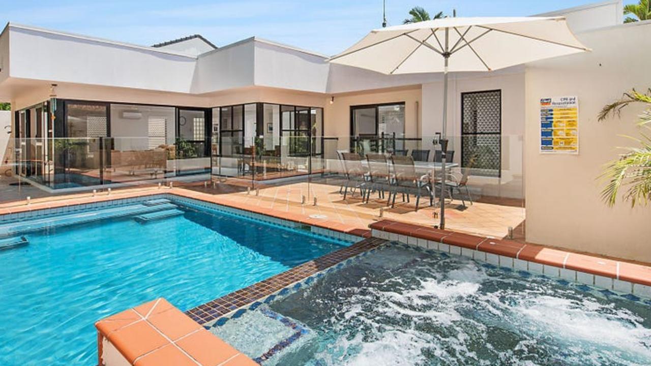 Brisbane cricketer Chris Lynn recently bought this beach house in Bokarina.