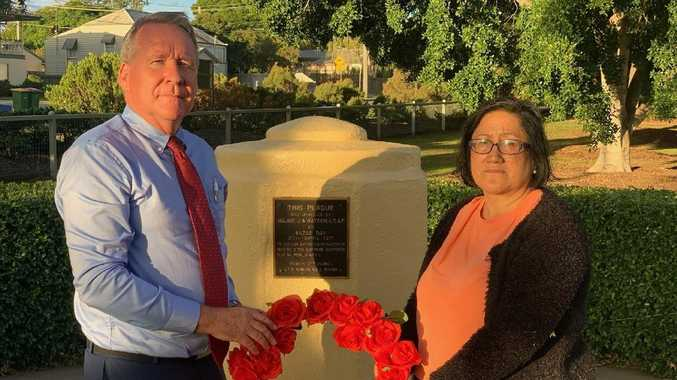 US soldier burial site 'forgotten' on Anzac Day
