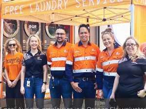 Aurizon partners with Orange Sky in Mackay