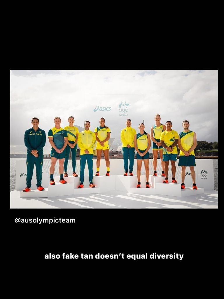 Cambage hit out at the lack of diversity.