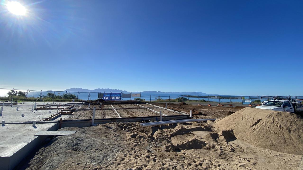 Bowen's Flagstaff Hill redevelopment has started.