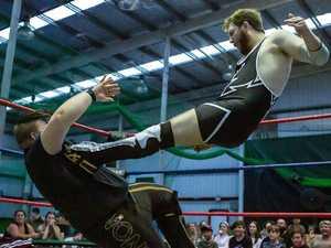 Wrestler ready to make Mayhem at Rocky event